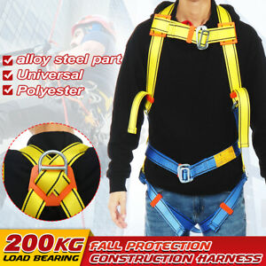 Fall Protection Construction Harness Full Body Type Universal Safety Belt