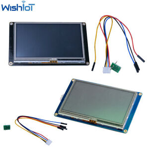 Nextion 4 3inch Enhanced Hmi Usart Lcd Module Display Touch Panel For Arduino