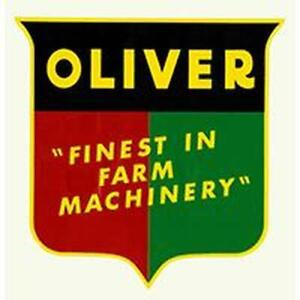 R4346 Oliver Shield Decal Finest In Farm Machinery Fits Oliver