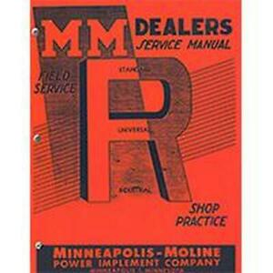 R5963 Service Manual Fits Minneapolis moline
