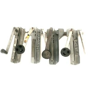 Armored Electrical Cable Bx Cutters Lot Of 4 Grenlee Seatek Generic Working Cond
