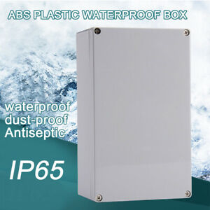 Durable Junction Box Enclosure Case Electrical Project Terminal Waterproof
