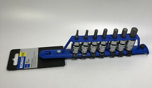 Kobalt 7 Pc Hex Driver Socket Set Metric Lifetime Guarantee