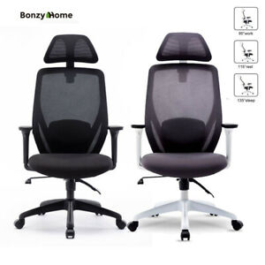 All round Office Chair Racing Swivel Recliner Arm Height Adjustable Ergonomic