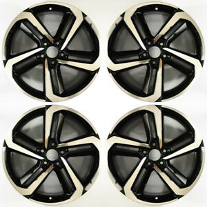Honda Accord Compatible Replica Machined 19 Wheel Set 2018 To 2019