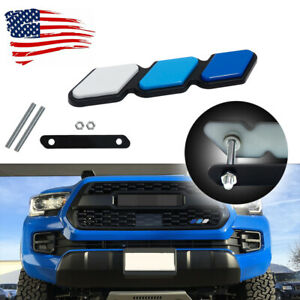 3 Color Front Grill Emblem Badge With Mount Bolts For Toyota Tacoma 4runner Tundra Fits 2009 Toyota Tacoma