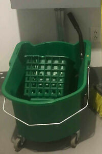 Green Mop Bucket Wringer Commercial 35 Quart Local Pickup Only