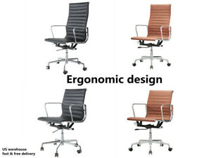 Office Chair Executive Home Computer Desk Seat Task Chair Adjustable Swivel Sgs