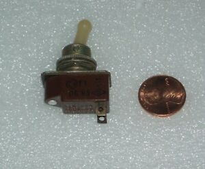 Brown Toggle Switch One Position On 3a 220v 5a 127v Russian Military Surplus
