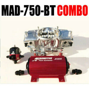 Mighty Demon Mad 750 Bt Ann Mechanical Blow Thru Carb Pump Reg Combo In Stock