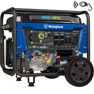 Westinghouse Dual Portable Generator 12500 9500w Transfer Electric remote Start