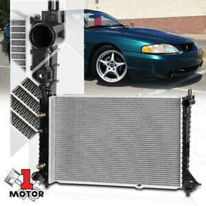 Aluminum Cooling Radiator Oe Replacement For 97 04 Ford Mustang 3 8 3 9 Dpi 2138
