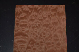 Quilted Makore Raw Wood Veneer Sheets 10 X 48 Inches 1 42nd J7622 26