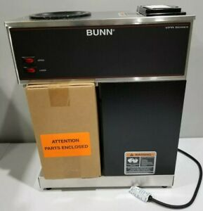 Bunn Commercial Coffee Maker Vpr 12 Cup Series 33200 0000 Black New Open Box