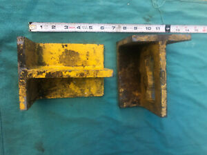 2 Machinist Right Angle Square Knee Set Up Block Jig Tool Welding Milling