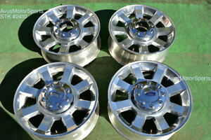 20 Ford F250 Super Duty Oem Factory Wheels F350 Fx4 Lariat 2008 2009 2010