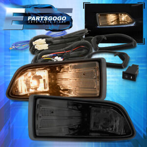 For 05 10 Scion Tc Smoked Bumper Fog Lights Lamps Set Left Right Bulbs Wiring