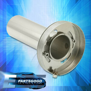 Universal Round Adjustable Removeable Catback Exhaust N1 4 5 Muffler Silencer