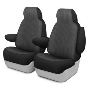 For Ford Crown Victoria 95 02 Madera 1st Row Charcoal Custom Seat Covers