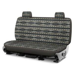 For Ford Bronco 78 96 Southwest Sierra 2nd Row Gray Custom Seat Cover