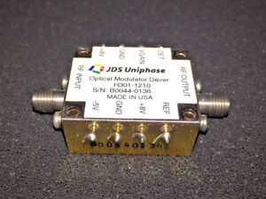 Jdsu H301 1210 10gbs Fiber Optical Modulator Driver Amplifier Made In Usa