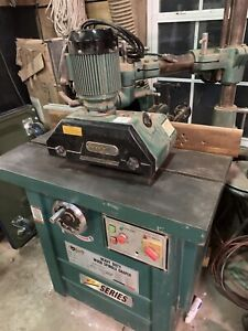 Grizzly 5 Hp Professional Spindle Shaper Z Series With 1 Hp Power Feeder