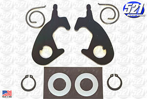 Seat Back Latch Kit Fits 68 69 Dart Charger Roadrunner Bucket 70 Duster Bench