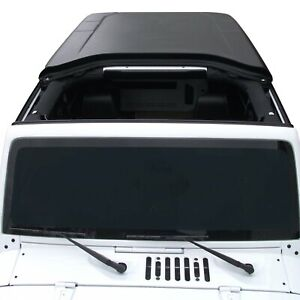 For Jeep Wrangler Jk 18 Guardian Fastback Tagra Style Black Textured Hard Top