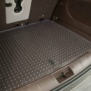 For Kia Soul 2011 2013 Exactmats Ki 170 cu Clear Cargo Mat Folded Up Seats