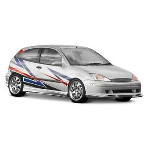 For Ford Focus 2000 2004 Xenon 10100 Style 2 Body Kit Unpainted