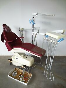 Royal Dental Chair With Delivery Unit Exam Light Complete Setup