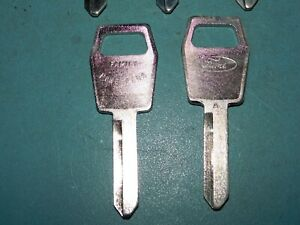 Lot Of 25 Fits Ford 1983fg 1983 Key Blanks 25 A