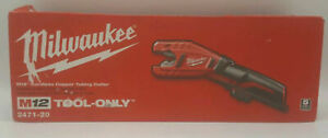 Milwaukee M12 2471 20 Cordless Copper Tubing Cutter tool Only new