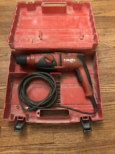 Hilti Te 2 Rotary Hammer Drill With Case No Handle