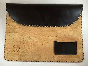 Cork And Leather look Document Holder Portfolio By M M Cork 10 X 14