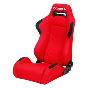 Cobra Seats C Day s rd Daytona Red Spacer Fabric Race Seat