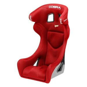 Cobra Seats C Ult cc s rd Ultralite Carbon Red Spacer Fabric Race Seat