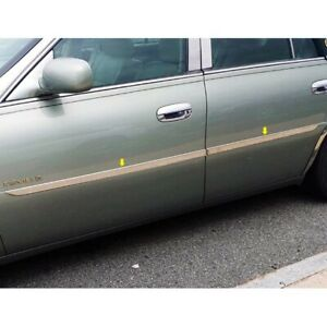 For Cadillac Deville 2000 2005 Saa I type Polished Body Side Moldings