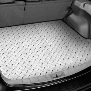 For Kia Soul 2010 2013 Intro tech Ki 145 dp Diamond Plate Cargo Mat W Bench Down
