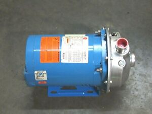 Goulds Stainless Centrifugal Pump 1ms1e2c0 G L Mcs 1x1 1 4 6 5 3 16 Imp Dia
