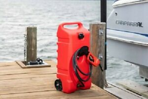 Fuel Gas Tank Fill Car Truck Boat Wheeled Container Flo N Go Handle Tranfer Pump