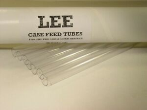 Lee Reloading Plastic Replacement Case Feeder Tubes Pro 1000 Press 90661 $14.54