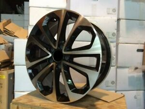 20 New Alloy Wheels Rims Black Hfp Style Sport 2014 Fits Honda Accord Civic Si