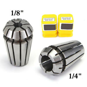 Collet Chuck 2pcs Spring Steel Lathe Drilling Tapping Engraving 438484