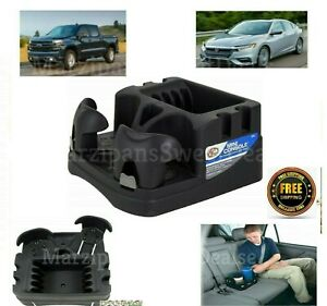 Center Console Drink Cup Holder Car Truck Organizer Floor Tray Storage Universal