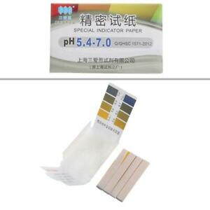 Accurate 80 Pieces Ph 5 4 7 0 Test Papers Strips Indicator Paper Lab Litmus
