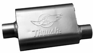 Thrush 17649 Welded Muffler Available In 3 Inch Inlet And Outlet
