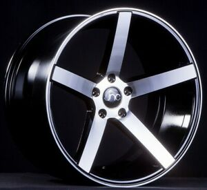 Jnc Wheels Rim Jnc026 Black Machine Face 20x9 5 5x114 3 Et32