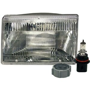 Headlight Driving Head Light Headlamp Driver Left Side Sealed Beam Lh For Jeep