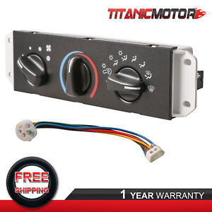 A C Heater Control W Blower Motor Switch For 1999 04 Jeep Wrangler Tj 55037473ab